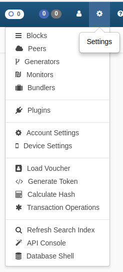 Ardor client-header bar-settings menu.jpg